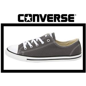 Converse Chuck Taylor Low Top Sneakers in Charcoal